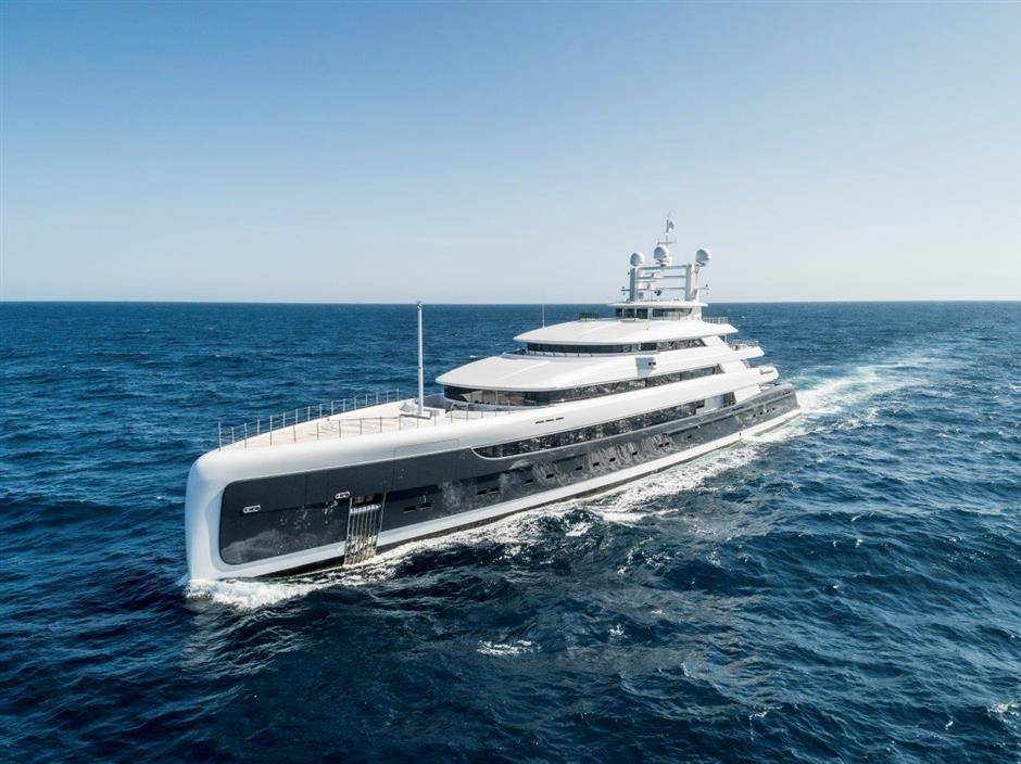 M/Y ILLUSION PLUS super yacht for sale