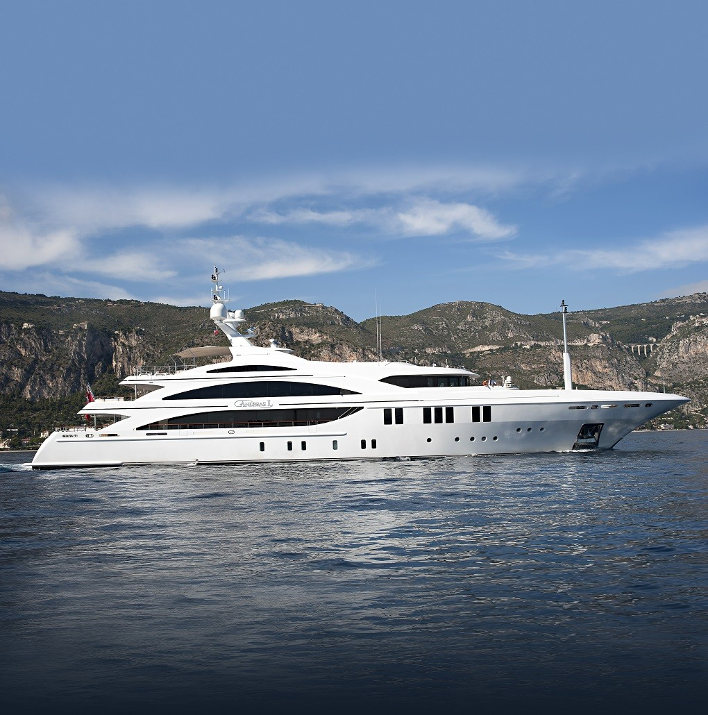 M/Y ANDREAS L yacht for charter with YACHTZOO