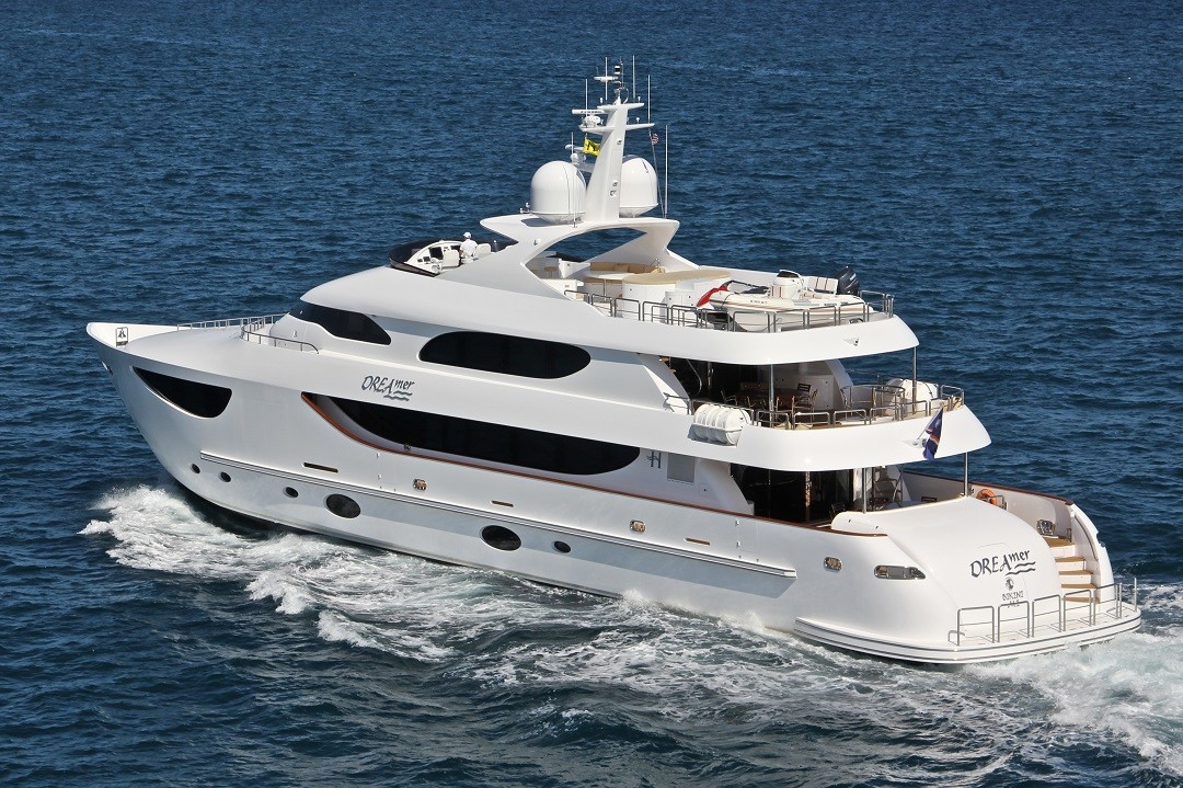 M/Y DREAMER super yacht for sale