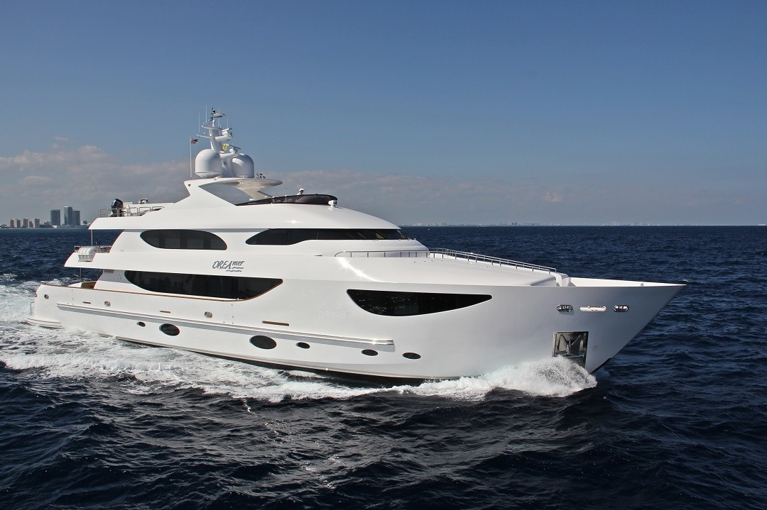 M/Y DREAMER yacht for sale running