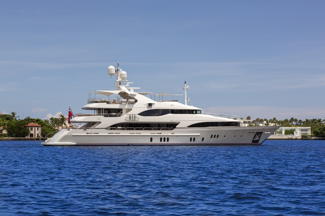 M/Y MAG III yacht for sale at anchor