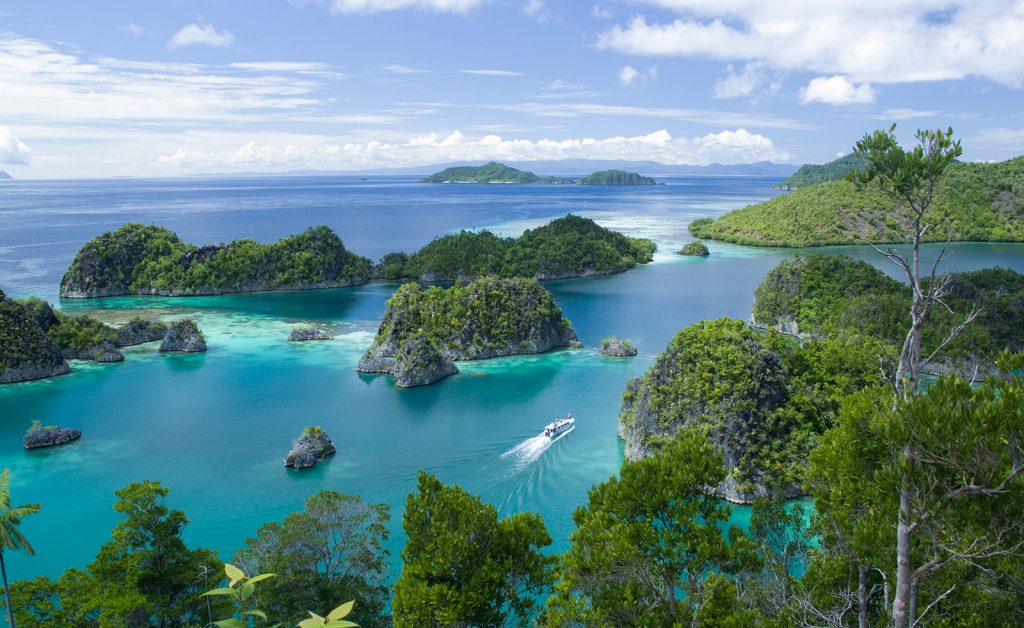 Aerial View of Raja Ampat, Indonesia