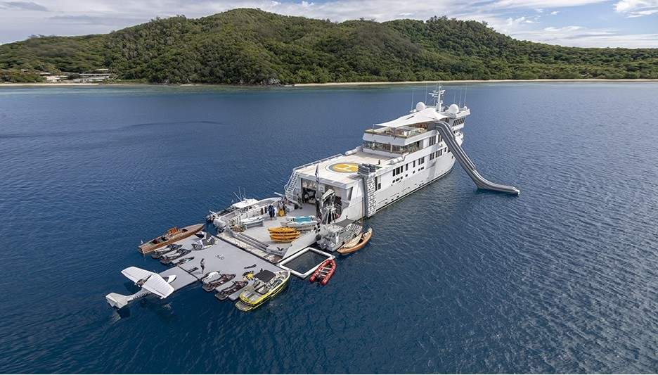 Explorer Yacht SuRi now listed for sale at USD 23 000 000