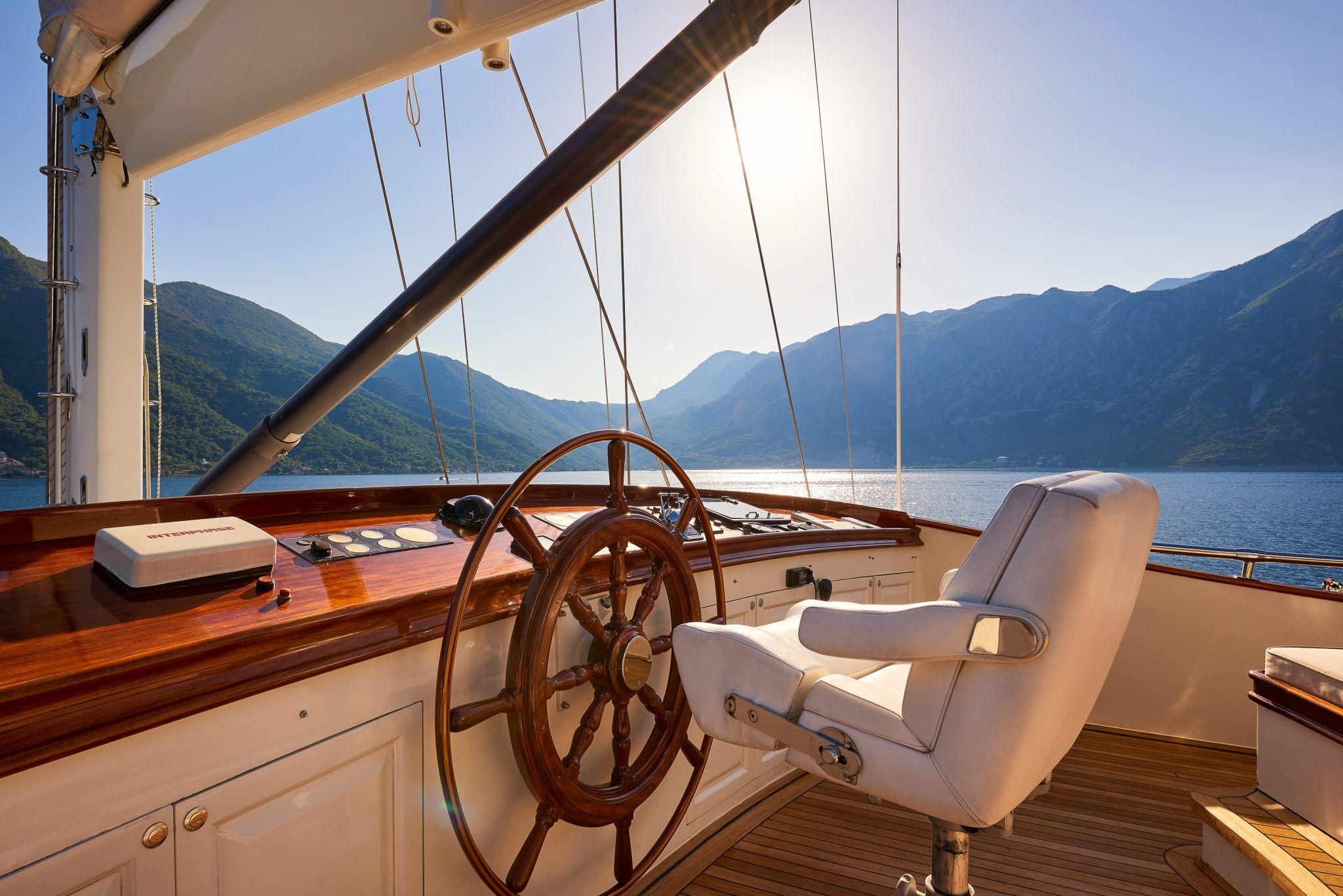 S/Y RIANA Yacht for Charter outdoor captain commands