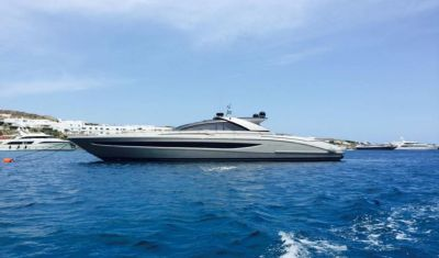 Profile view of F12 Riva Ego 68 yacht for sale