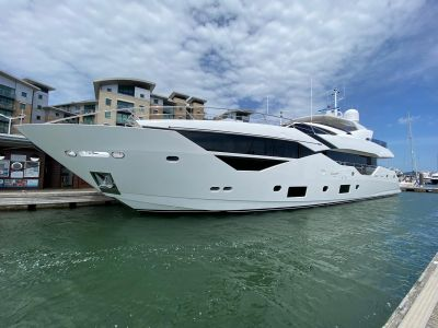 Profile view of M/Y SEDATIVE Yacht for charter with YACHTZOO