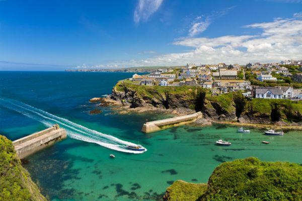 Luxury yacht charter UK - Port Issac, Cornwall