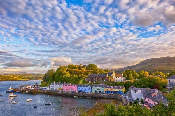 Luxury yacht charter UK - Isle of Skye, Scotland