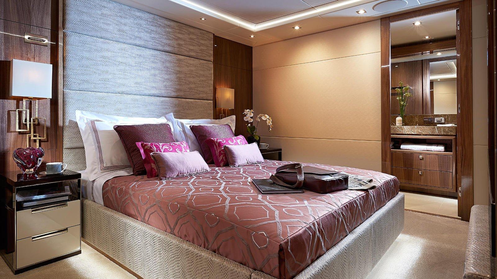 M/Y AMWAJ Yacht for Sale VIP Guest Cabin