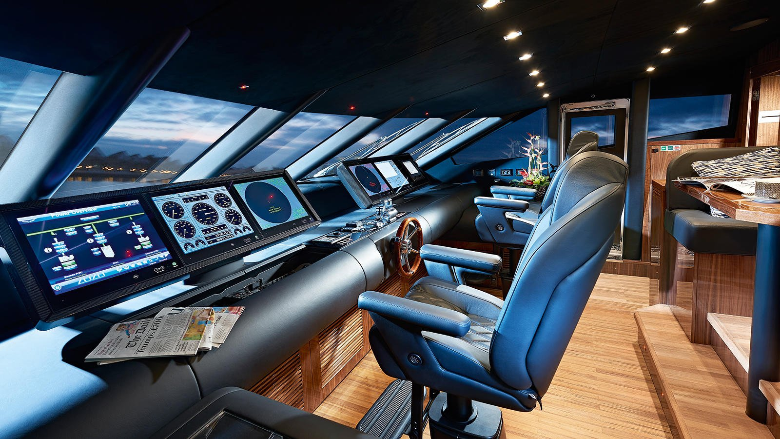 M/Y AMWAJ Yacht for Sale Bridge