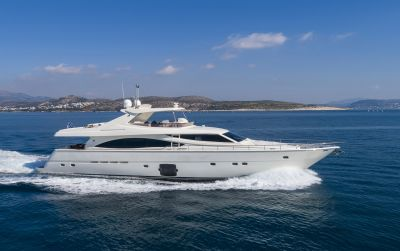 m/y astarte yacht for charter sailing