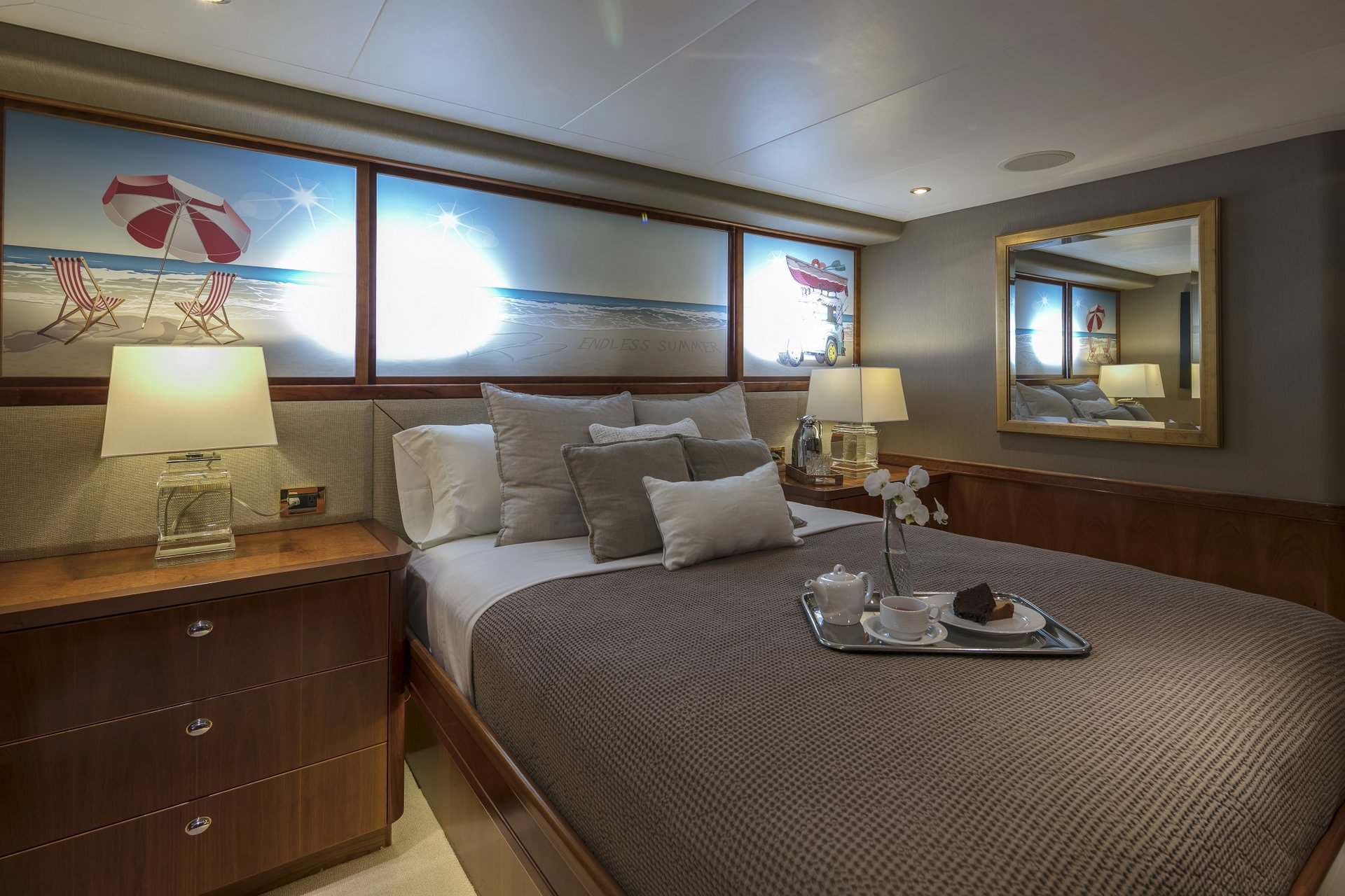 m/y endless summer yacht for charter double cabin
