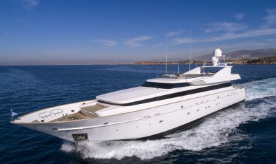 M/Y MABROUK yacht for charter sailing