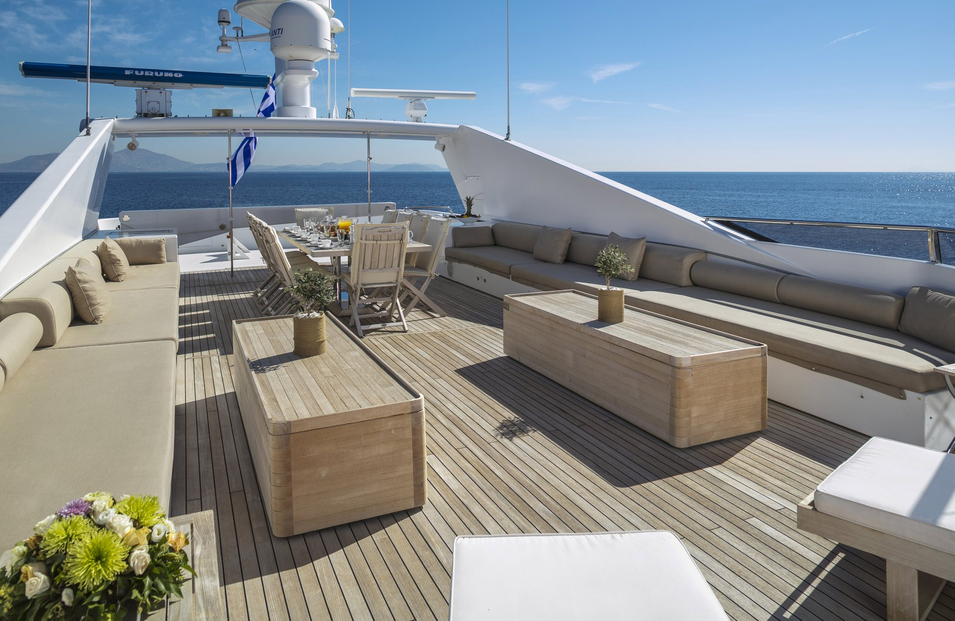 M/Y MABROUK yacht for charter deck