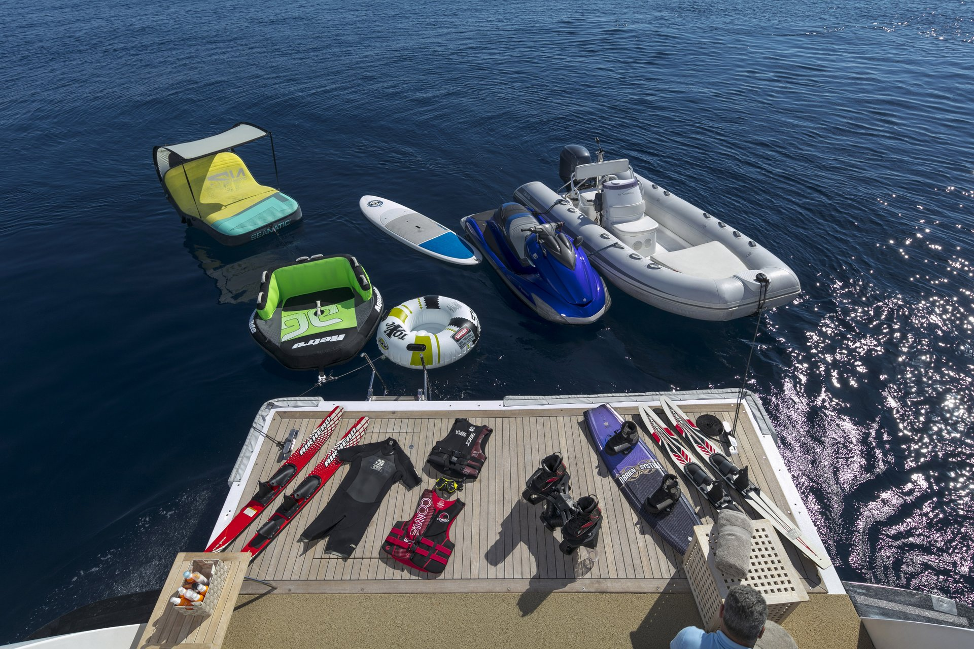 M/Y MABROUK yacht for charter water sports