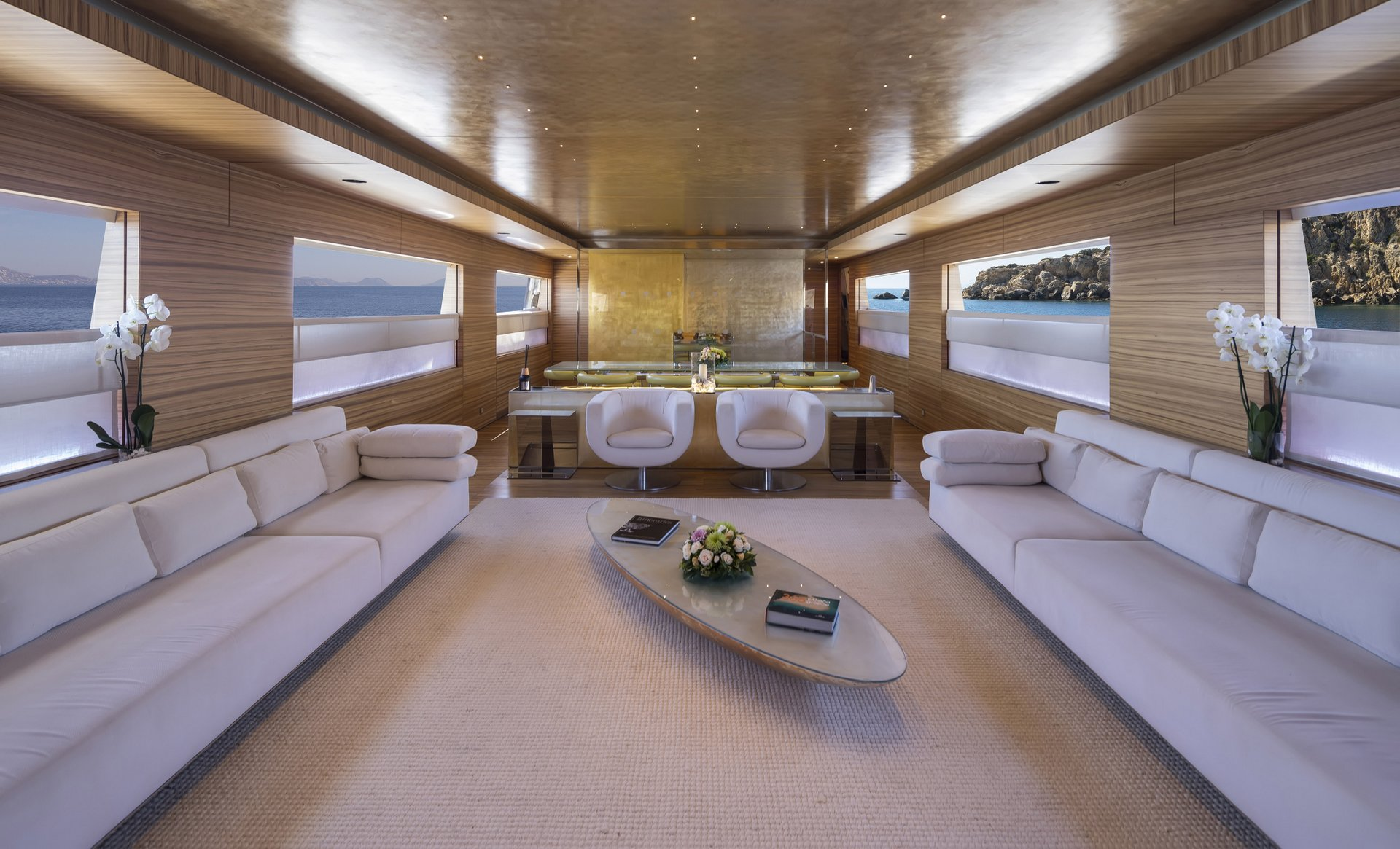 M/Y MABROUK yacht for charter lounge
