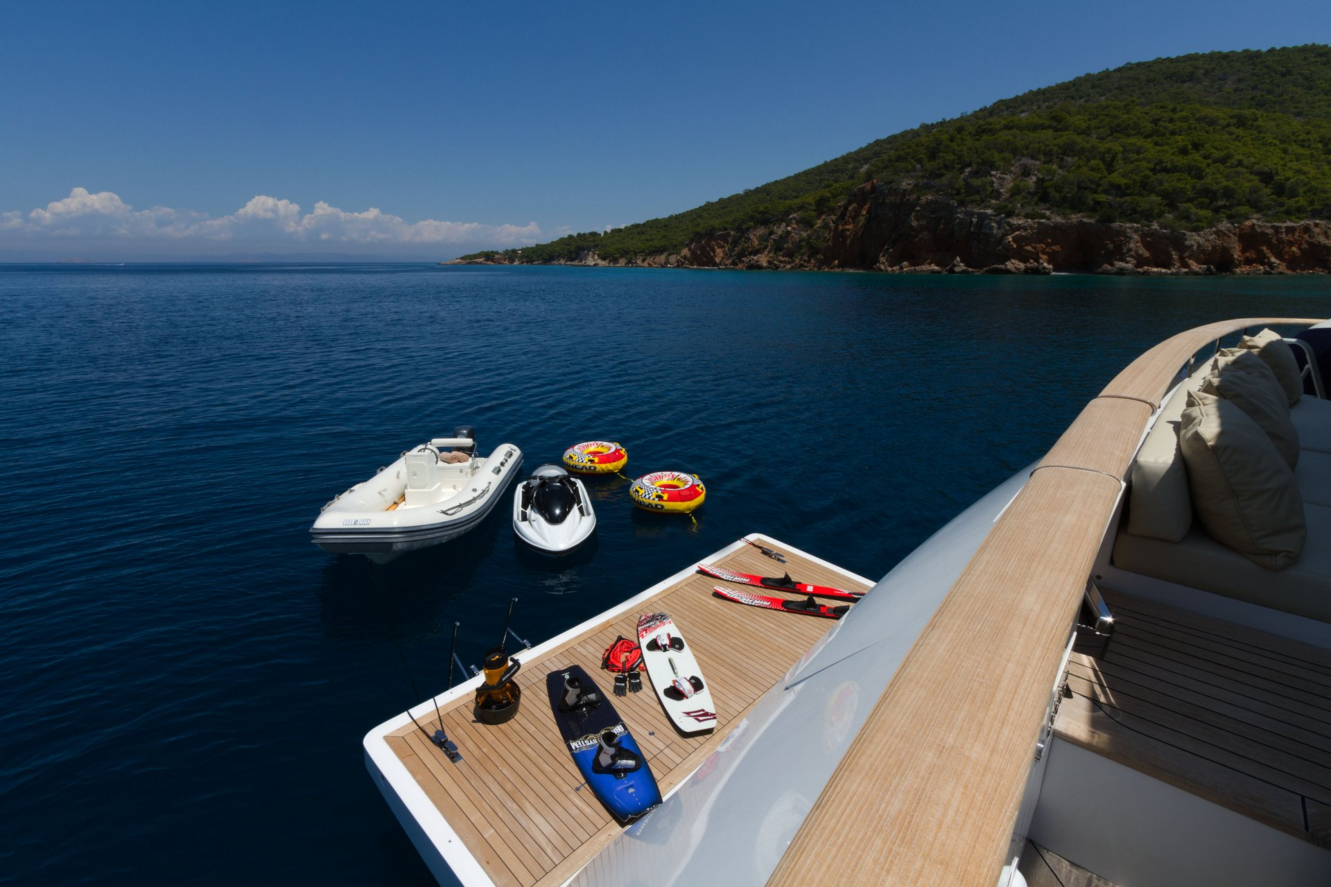 M/Y MABROUK yacht for charter waters toys