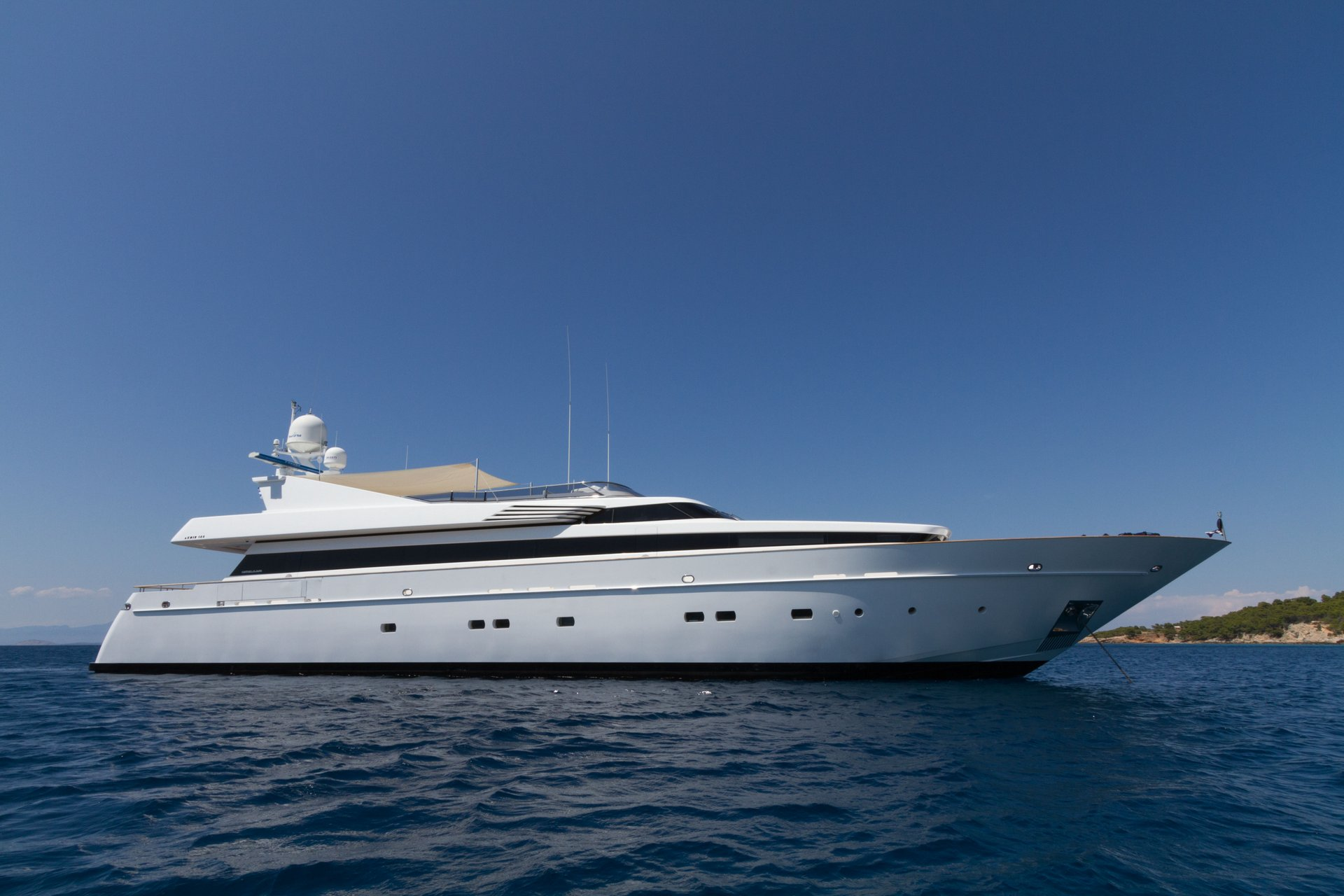 M/Y MABROUK yacht for charter anchored