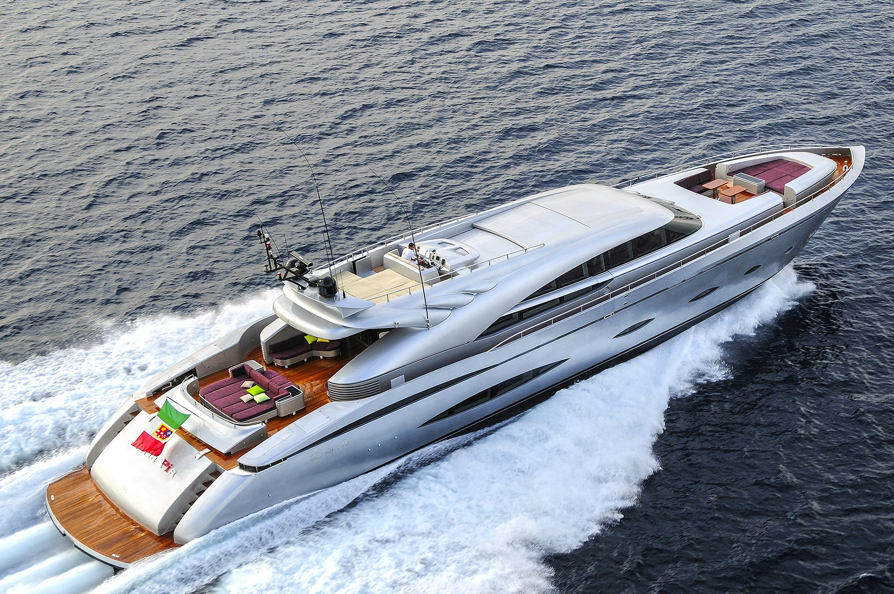 M/Y MY TOY yacht for charter sailing