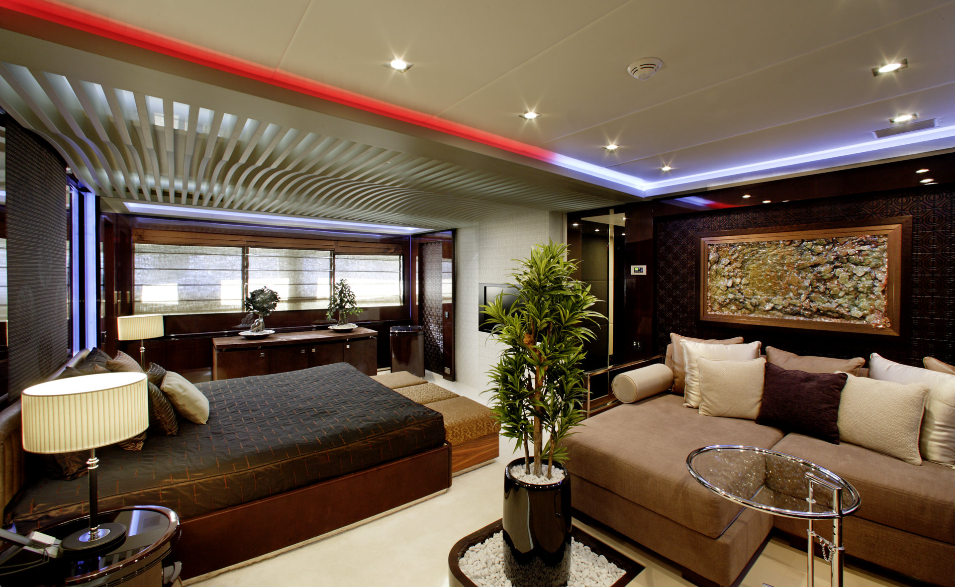 M/Y MY TOY yacht for charter double bedroom
