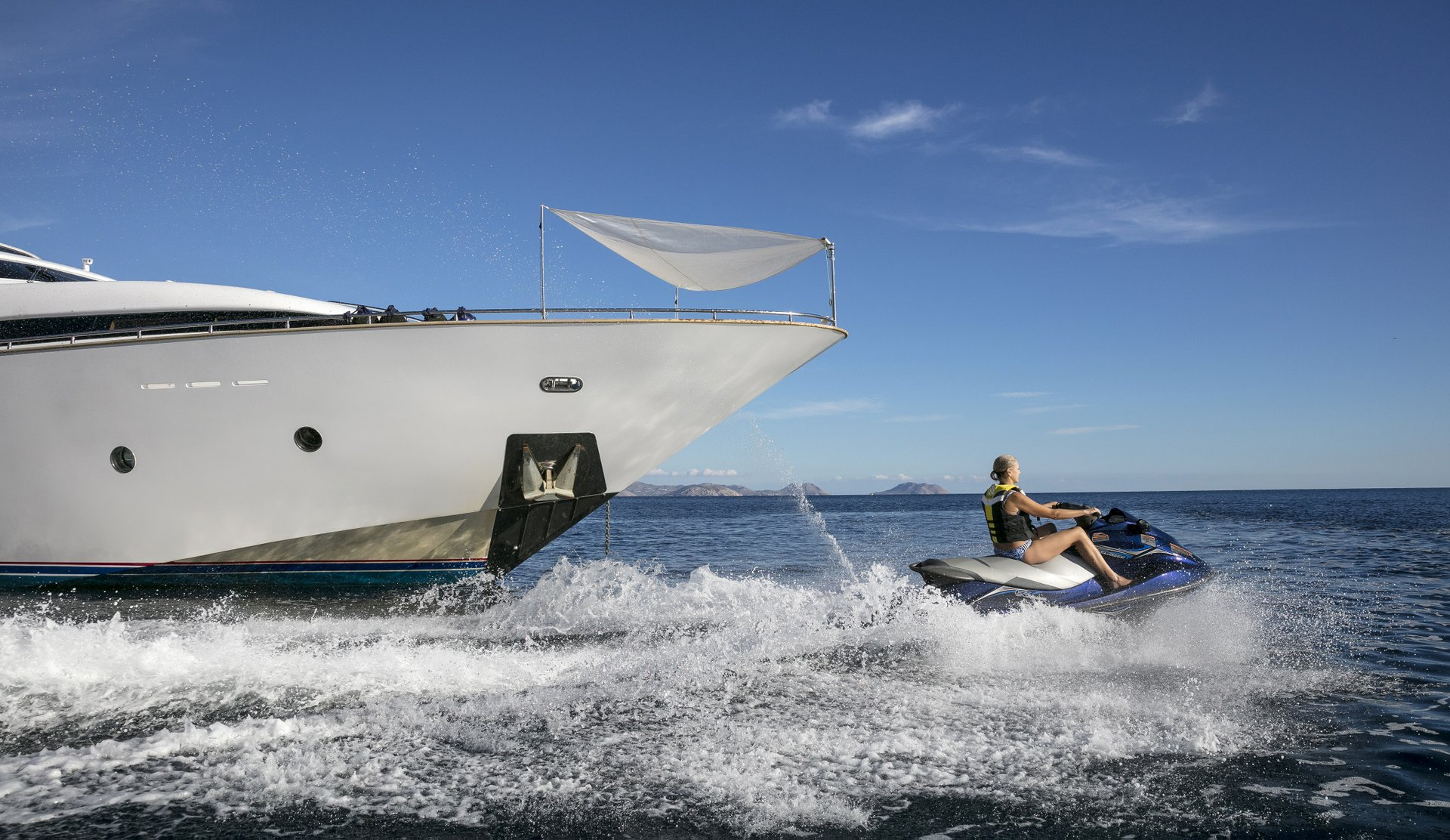 M/Y PARIS A yacht for charter watertoys