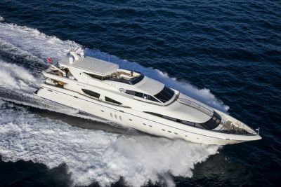 M/Y RINI yacht for charter sailing view