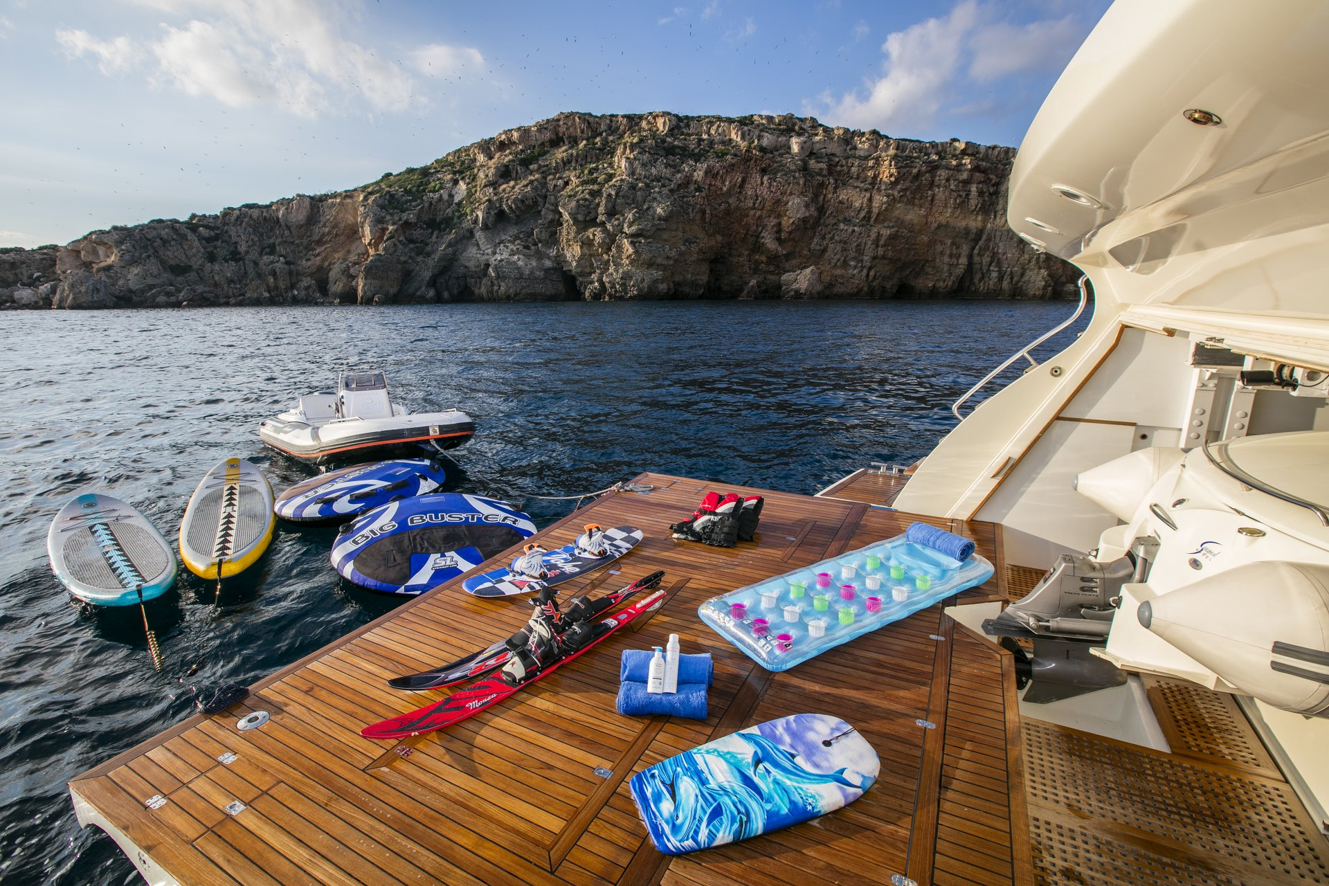 M/Y RINI yacht for charter water sports