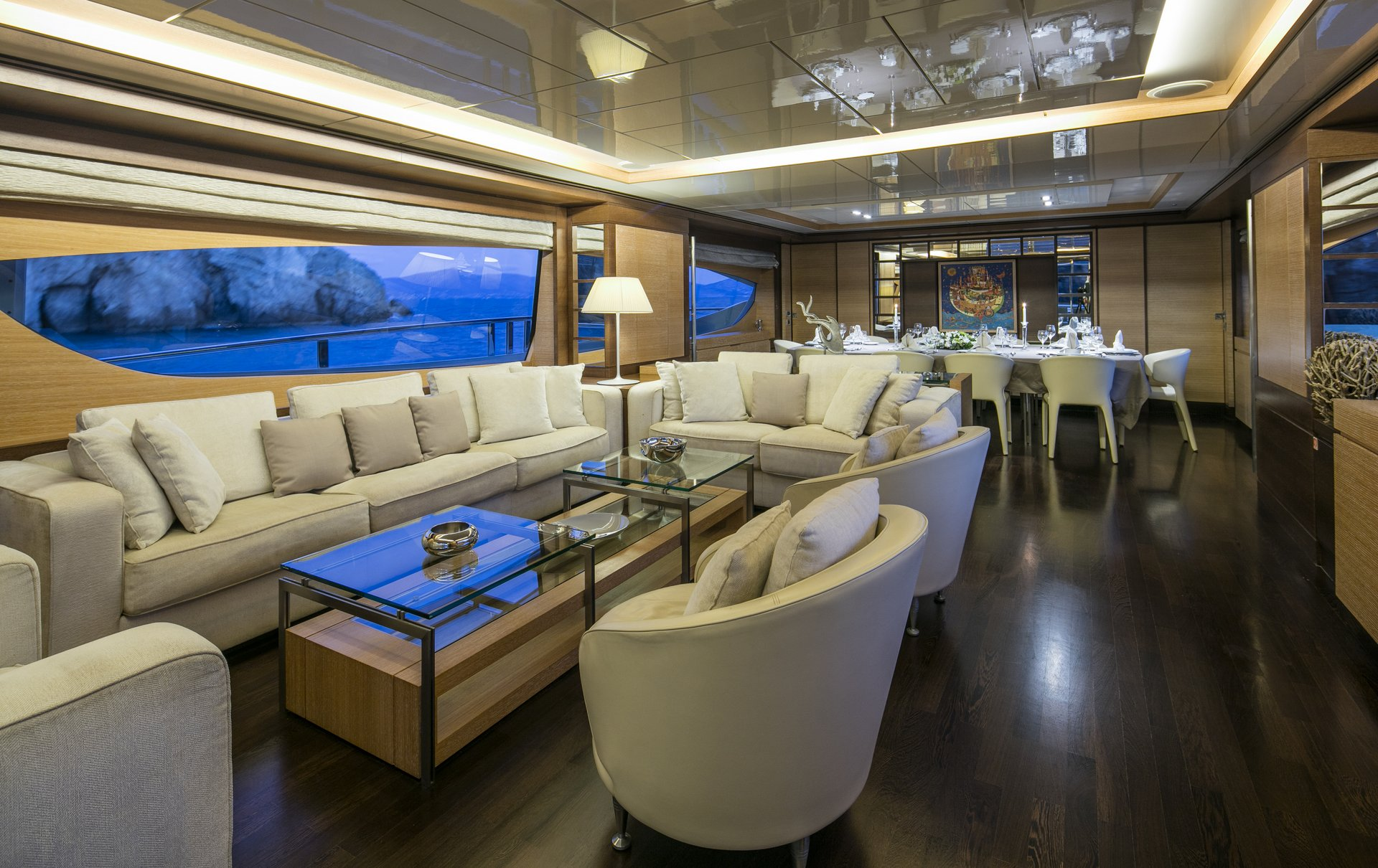 M/Y RINI yacht for charter living room