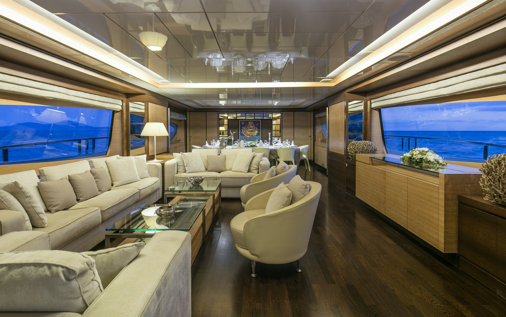 M/Y RINI yacht for charter full lounge