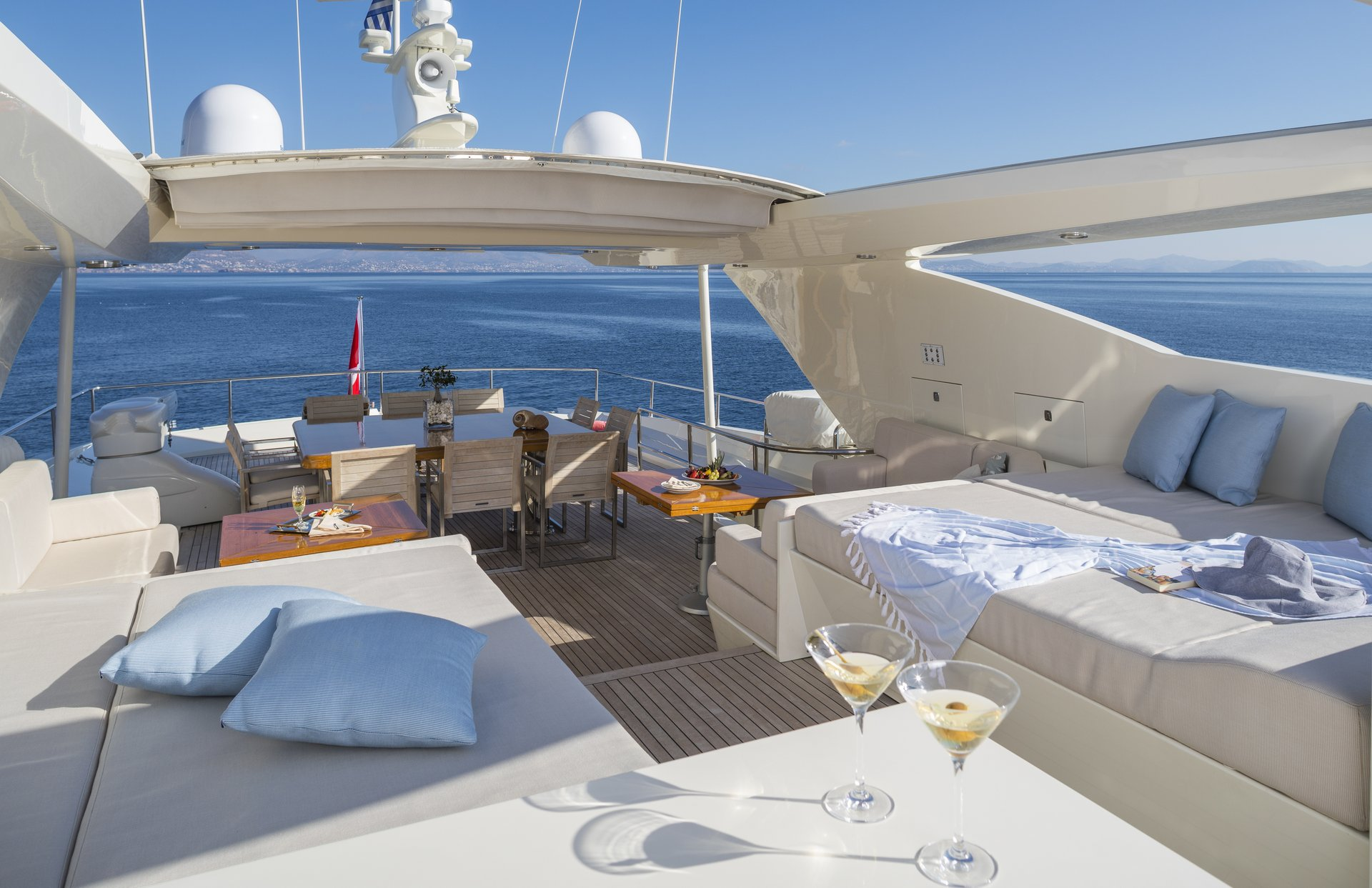 M/Y RINI V yacht for charter deck
