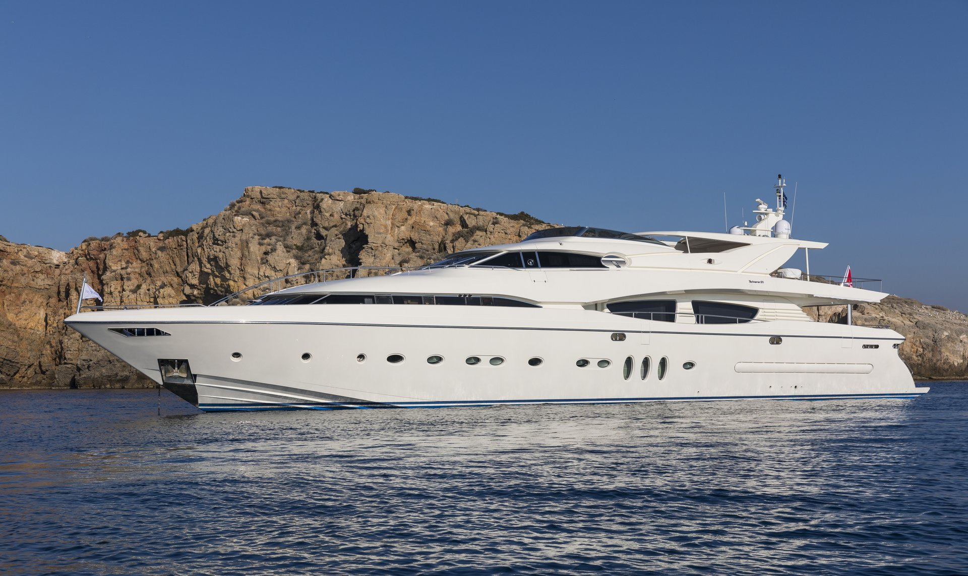 M/Y RINI V yacht for charter anchored