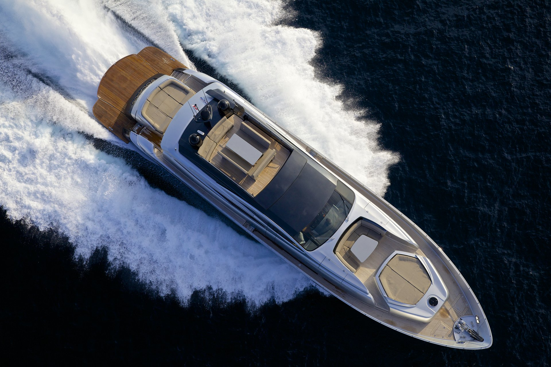 M/Y SOLARIS yacht for charter birdview sailing