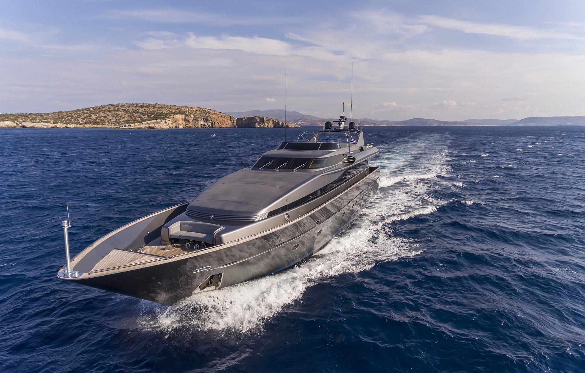 M/Y SUMMER DREAMS yacht for charter sailing