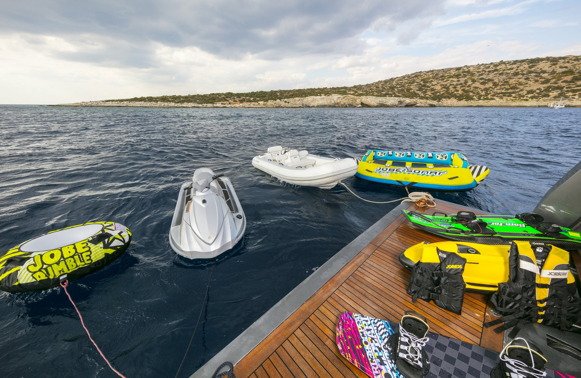 M/Y SUMMER DREAMS yacht for charter water toys