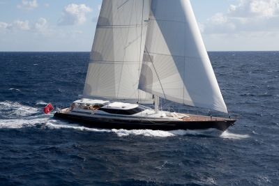 S/Y genevieve yacht for charter on the sea