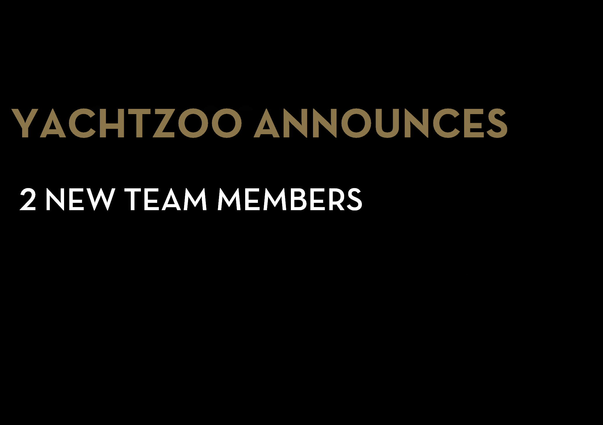 New additions to the YACHTZOO team