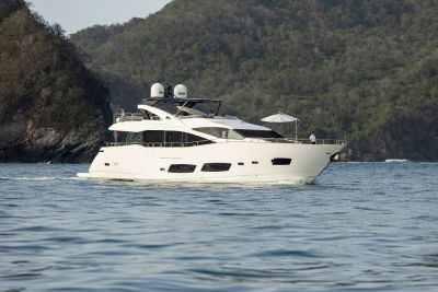 m/y kukureka yacht for charter anchored