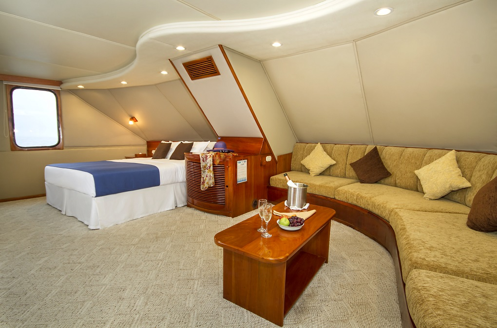 m/y integrity yacht for charter master cabin