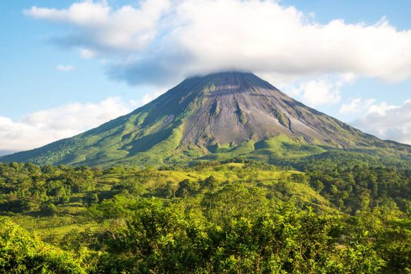 Arenal Volcano on a Costa Rica Yacht Charter
