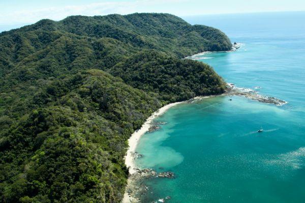 Lush Rainforest on a Costa Rica Yacht Charter