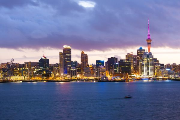 Night Skyline on a New Zealand Yacht Charter