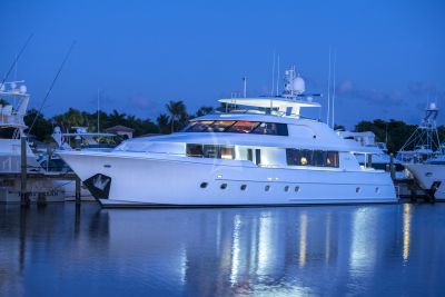 M/Y WILD KINGDOM yacht for charter at anchor