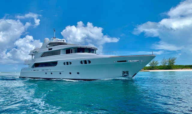 M/Y FAR FROM IT Yacht At Anchor