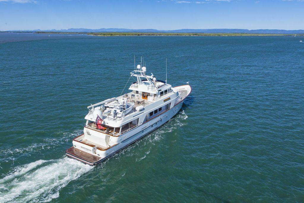M/Y Silent World II yacht for sale cruising