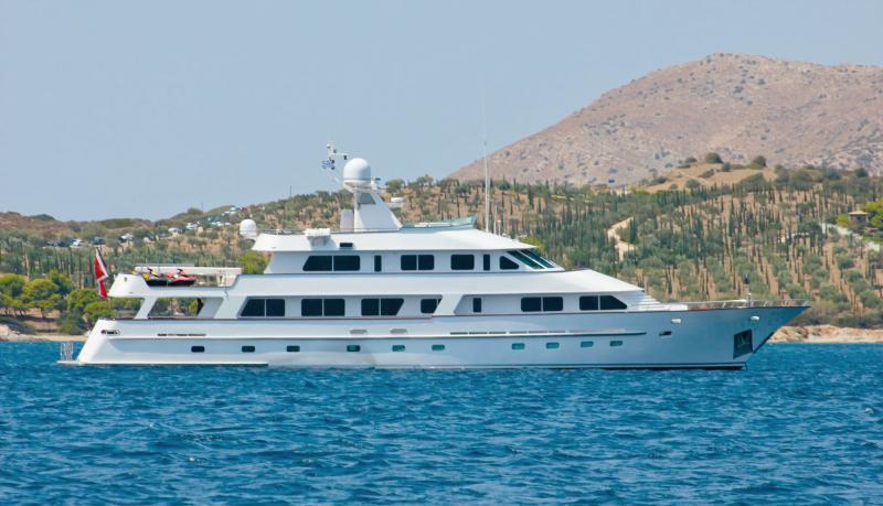 M/Y ATLAS At Anchor