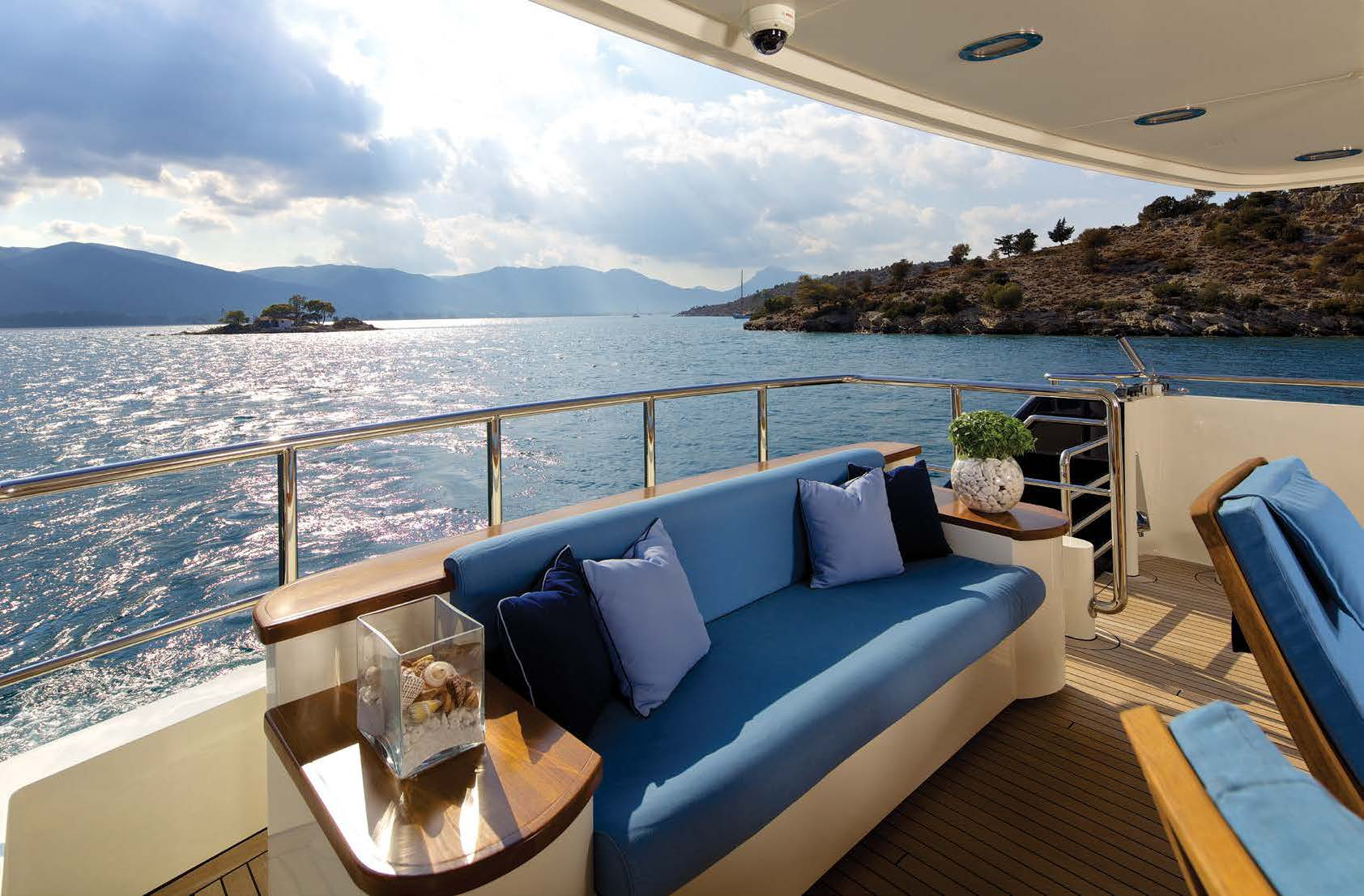 MY Magix Luxury Motor Yacht Charter deck