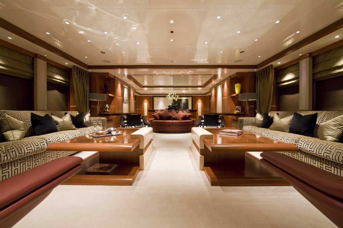 M/Y SEQUEL P yacht for charter living room