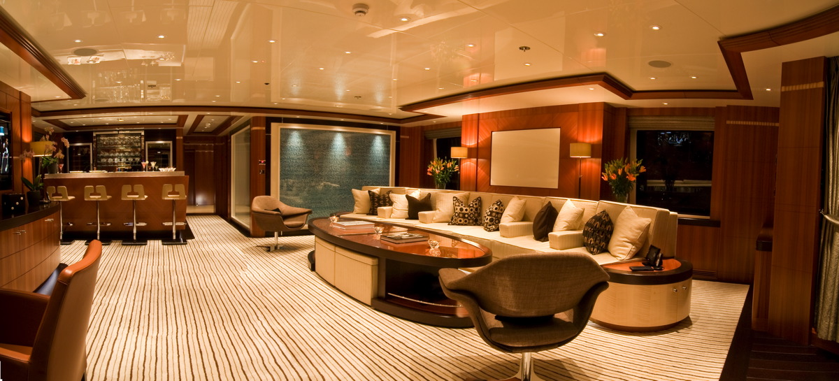 M/Y SEQUEL P yacht for charter lounge