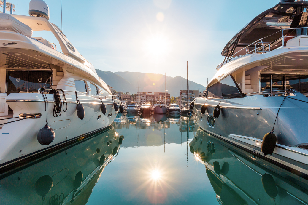 luxury yacht berth
