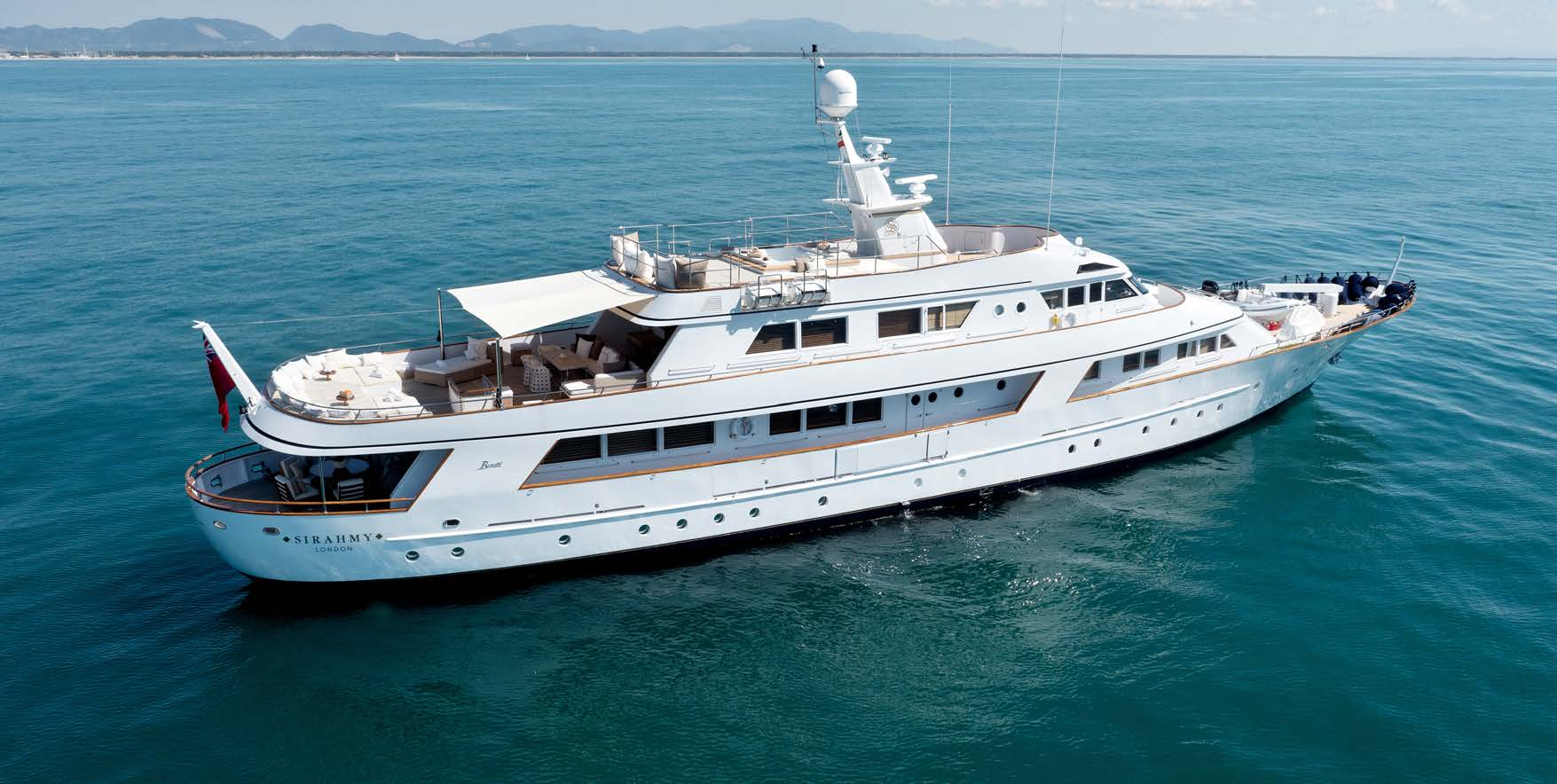 M/Y SIRAHMY yacht for charter